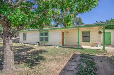 Burnet County Single Family Home Pending - Taking Backups: 621 Brooks Mill Rd