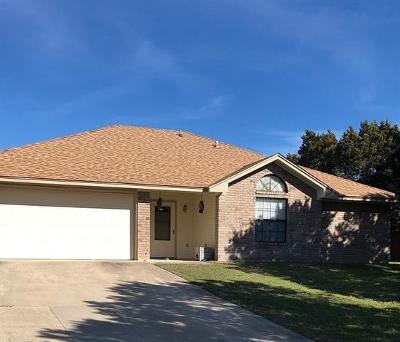 Killeen TX Single Family Home For Sale: $144,000