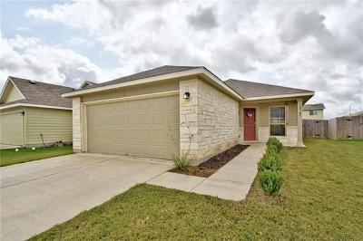 Manor Single Family Home For Sale: 12705 Carillon Way