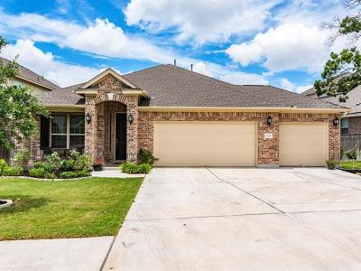 Leander Single Family Home For Sale: 2333 Legend Hill Dr