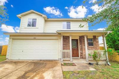 Hutto Single Family Home Pending - Taking Backups: 5013 Daymon Ct