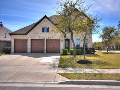 Cedar Park Single Family Home Pending - Taking Backups: 1607 Terrace View Dr