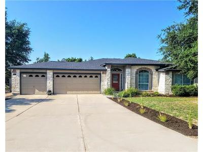 Lago Vista Single Family Home Pending - Taking Backups: 20003 Lincoln Cv