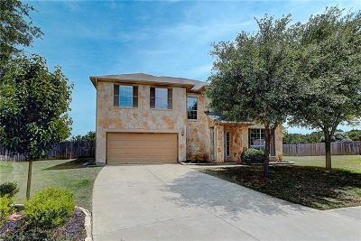 Leander Single Family Home For Sale: 124 Purple Martin Cv