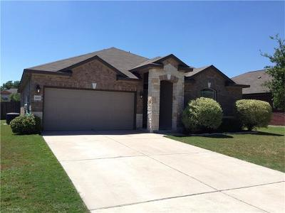 Taylor Single Family Home For Sale: 2003 Canvas Back Dr