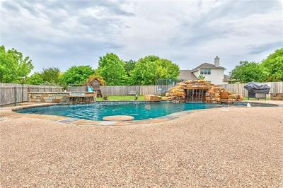 Pflugerville Single Family Home Pending - Taking Backups: 19908 Damrich Ct