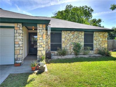 Cedar Park Single Family Home Pending - Taking Backups: 410 S Mount Rushmore Dr