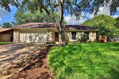 Hays County, Travis County, Williamson County Single Family Home Pending - Taking Backups: 4837 Trail Crest Cir