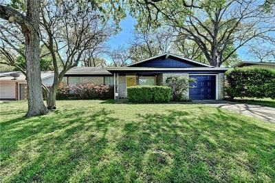 Austin Single Family Home For Sale: 1923 Parkside Ln