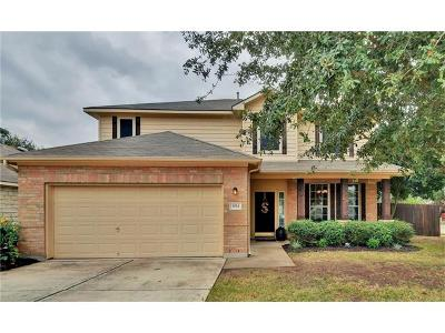 Cedar Park TX Single Family Home For Sale: $255,000