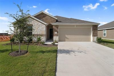 Hutto TX Single Family Home For Sale: $264,712