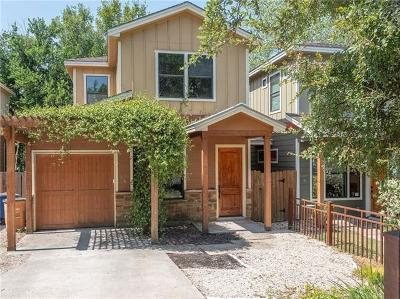 Austin Condo/Townhouse For Sale: 3003 Lovell Dr #A