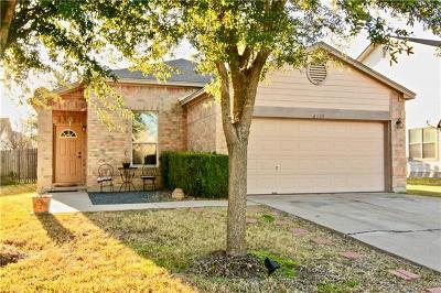 Taylor Single Family Home Pending - Taking Backups: 4103 Kings Canyon Dr