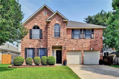 Round Rock Single Family Home For Sale: 4331 Rock Hill Rd