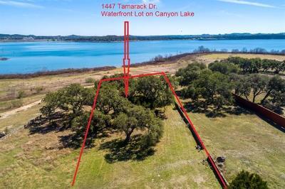 Canyon Lake Residential Lots & Land For Sale: 1447 Tamarack Dr
