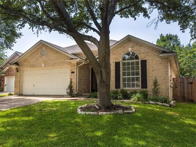 Cedar Park Single Family Home Pending: 1708 Juniper Ridge Loop