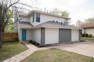 Round Rock Multi Family Home For Sale: 409 Parkhill Cv