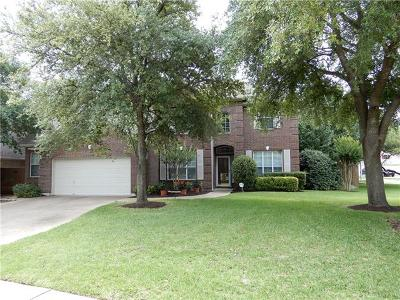 Cedar Park Single Family Home For Sale: 1602 Michael Robert Way
