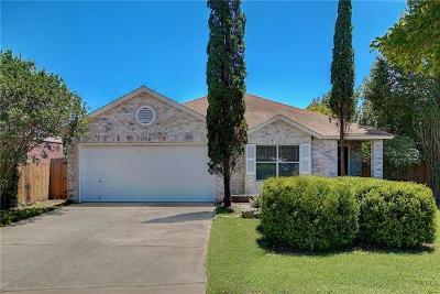 Cedar Park Single Family Home For Sale: 1720 Treeline Dr