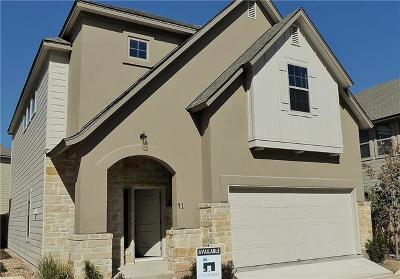 Travis County, Williamson County Single Family Home For Sale: 13001 Hymeadow Dr #41