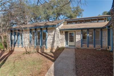 Travis County Single Family Home Pending - Taking Backups: 3808 Oak Creek Dr