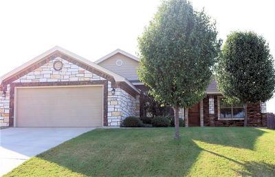 Harker Heights Single Family Home Pending - Taking Backups: 2519 Mugho Dr