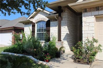 Manor Single Family Home For Sale: 11528 Sunny Creek Ln