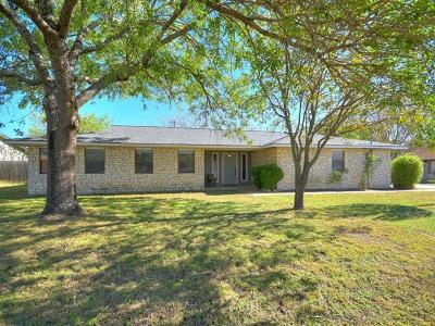 Leander Single Family Home For Sale: 1910 Londonderry Dr