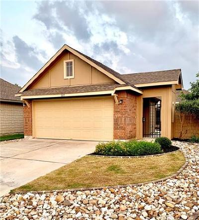 San Marcos Single Family Home For Sale: 217 Rock Bluff Ln