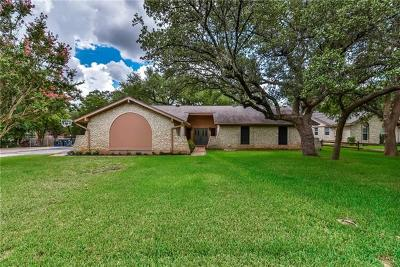 Georgetown Single Family Home Pending - Taking Backups: 812 Serenada Dr