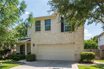 Cedar Park Single Family Home For Sale: 1821 Chula Vista Dr