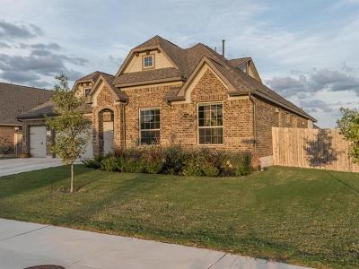 Round Rock Single Family Home For Sale: 8257 Arezzo Dr