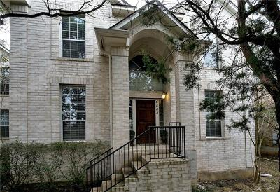 Austin Single Family Home For Sale: 6804 Rain Creek Pkwy