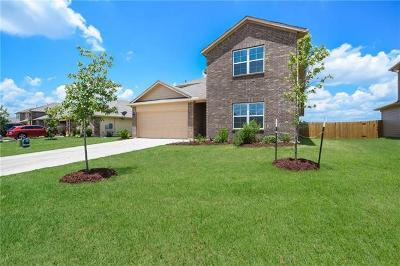 Hutto Single Family Home For Sale: 708 Luna Vista Dr
