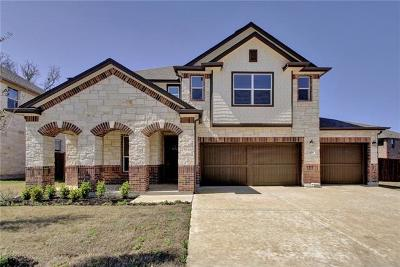 Round Rock Single Family Home For Sale: 3023 Freeman Park Dr