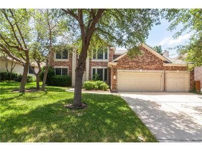 Round Rock Single Family Home Pending - Taking Backups: 3207 Misty Oaks Way