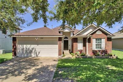 Hutto Single Family Home For Sale: 303 Estate Dr