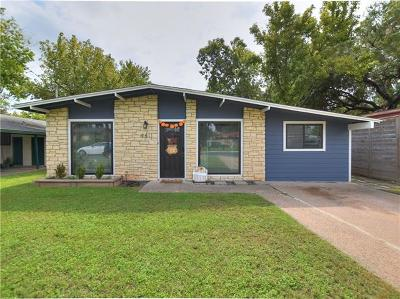Travis County Single Family Home For Sale: 4611 Oak Cliff Dr