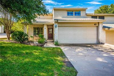Hays County, Travis County, Williamson County Condo/Townhouse For Sale: 9518 Topridge Dr #47