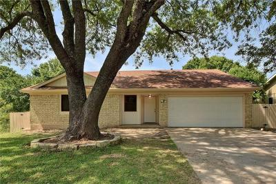 Austin Single Family Home For Sale: 1501 Cricket Hollow Dr