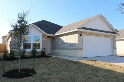 Round Rock Single Family Home For Sale: 5647 Sabbia Dr