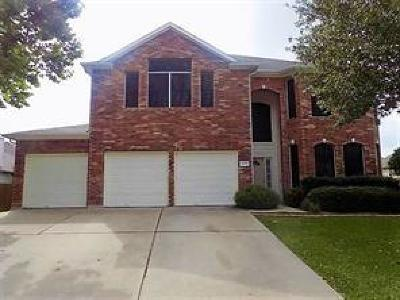 Pflugerville Single Family Home For Sale: 21021 N Penny Royal Dr