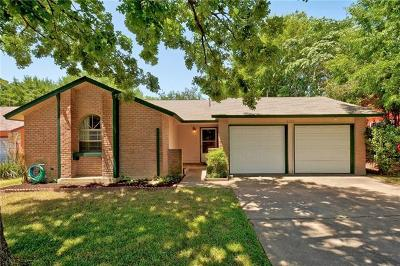 Austin Single Family Home For Sale: 4709 Franklin Park Dr