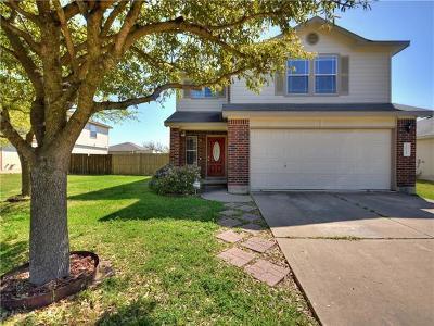 Hutto Single Family Home Pending - Taking Backups: 1014 Warbler Cv