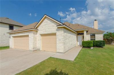 Kyle Single Family Home For Sale: 1660 Twin Cv