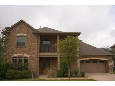 Cedar Park Single Family Home For Sale: 1403 Pendleton Dr