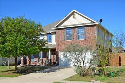 Hutto TX Single Family Home For Sale: $250,000