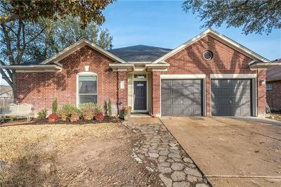 Pflugerville Single Family Home Pending - Taking Backups: 20811 Morgans Choice Ln
