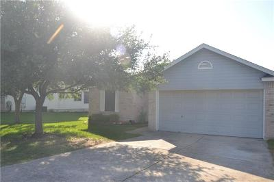 Leander Single Family Home For Sale: 1203 Waterfall Ave