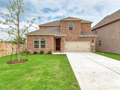 Leander Single Family Home For Sale: 1316 Mustang Brook Ln